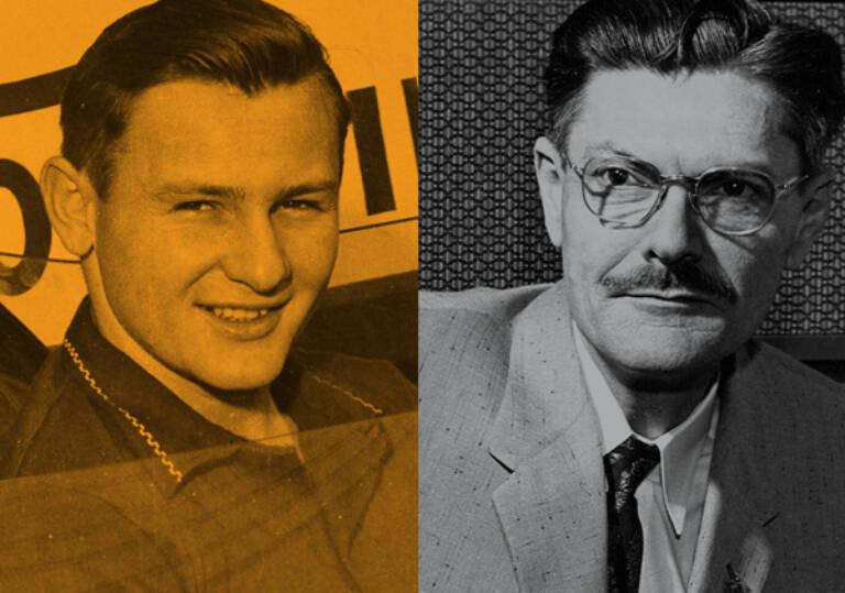 Bruce Mc Laren and Paul Klipsch Mobile