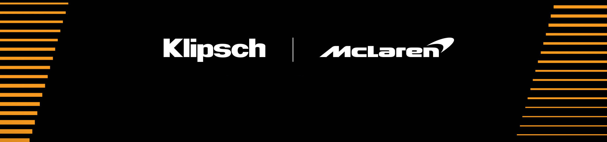 Klipsch and Mc Laren Welcome to the Speed of Sound Desktop