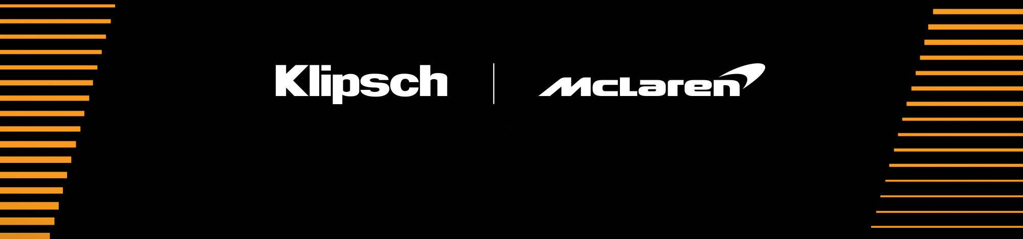 Klipsch and Mc Laren Welcome to the Speed of Sound Desktop