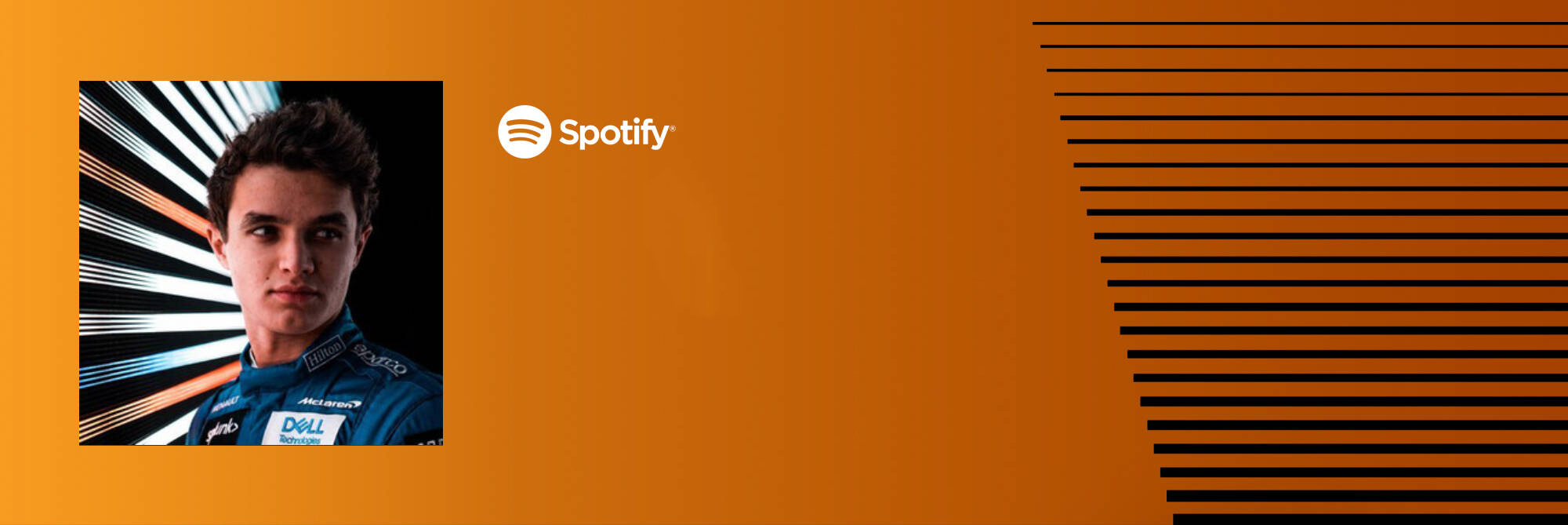 Lando Norris Spotify Playlist Graphic Desktop