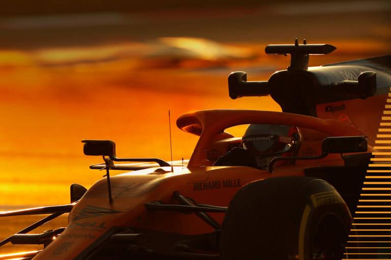 McLaren Formula 1 car on track 1 Desktop