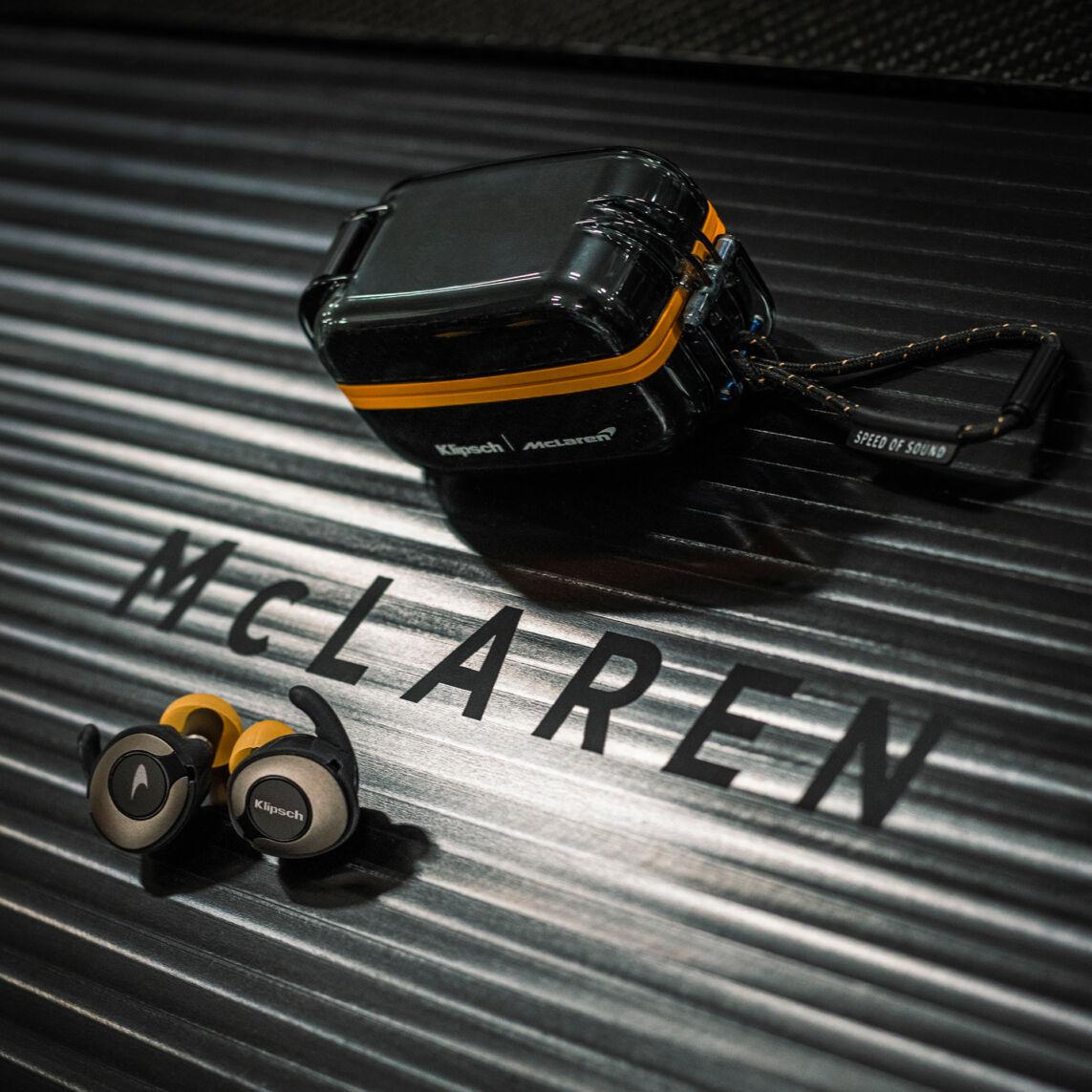 Klipsch T5 II Sport Mc Laren best wireless earbuds