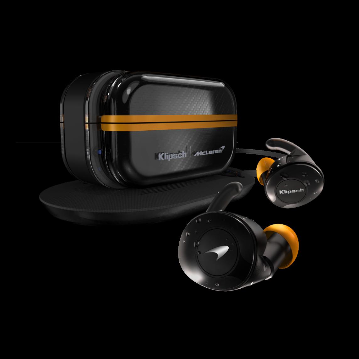 T5 II True Wireless Sport McLaren Edition Angle